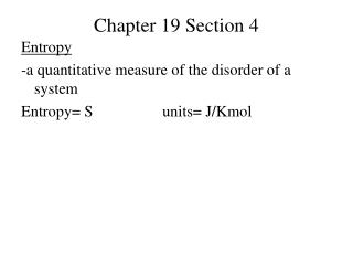 Chapter 19 Section 4