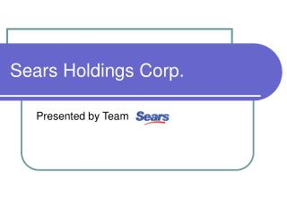 Sears Holdings Corp.