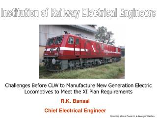 Institution of Railway Electrical Engineers