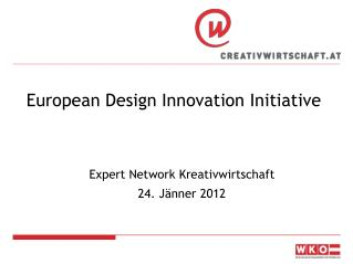 European Design Innovation Initiative