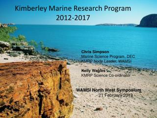 Kimberley Marine Research Program 2012-2017