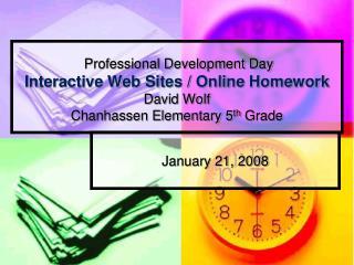 January 21, 2008