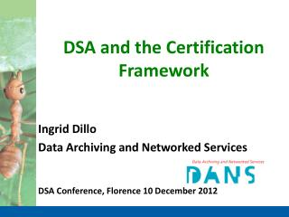 DSA and the Certification Framework