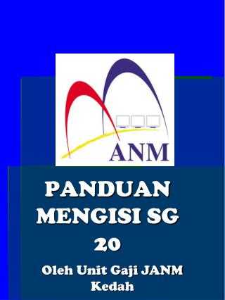 Contoh-sontoh SG20 - Jabatan Pelajaran Negeri Kedah