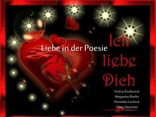 Liebe in der Poesie