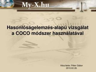 Hasonlóságelemzés-alapú vizsgálat a COCO módszer használatával