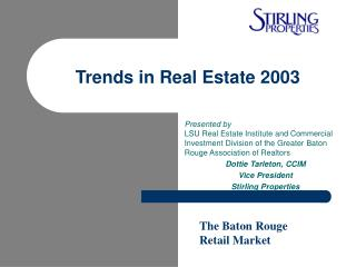 Trends in Real Estate 2003