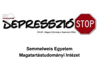 Semmelweis Egyetem Magatartástudományi Intézet