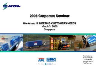 2006 Corporate Seminar