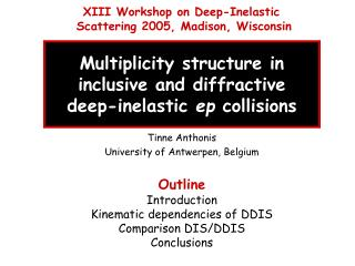 Multiplicity structure in  inclusive and diffractive  deep-inelastic  ep  collisions