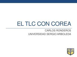 EL TLC CON COREA