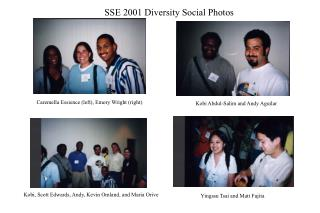 SSE 2001 Diversity Social Photos