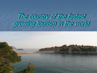 Tourist desinations