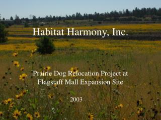 Habitat Harmony, Inc.