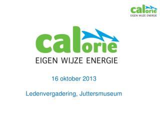 16 oktober 2013 Ledenvergadering, Juttersmuseum