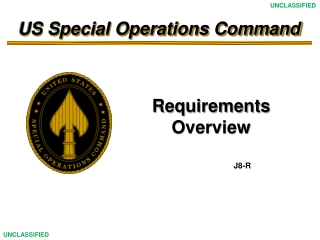 Capabilities Briefing