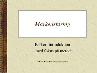 Markedsf�ring