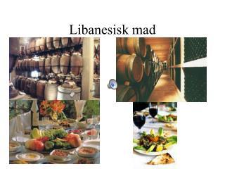 Libanesisk mad