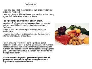 Fødevarer