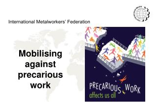 Mobilising against precarious work