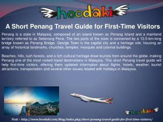A Short Penang Travel Guide for First-Time Visitors