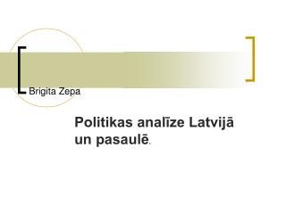 Brigita Zepa