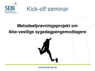 Kick-off seminar