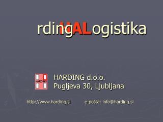 harding.si          e-pošta: info@harding.si