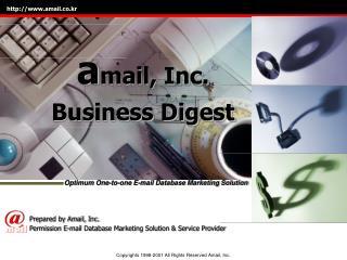 a mail, Inc. Business Digest