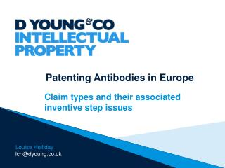Patenting Antibodies in Europe