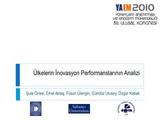 �lkelerin  ?novasyon  Performanslar?n?n Analizi