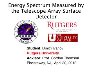 Energy Spectrum Measured by the Telescope Array Surface Detector