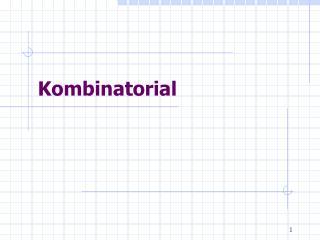 Kombinatorial