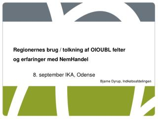 8. september IKA, Odense