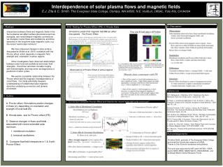 Interdependence of solar plasma flows and magnetic fields
