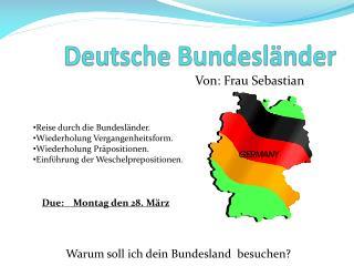 Deutsche  Bundesl�nder