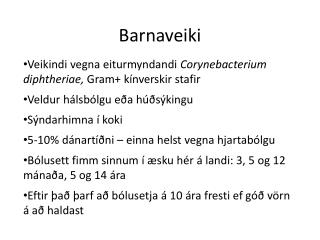 Barnaveiki