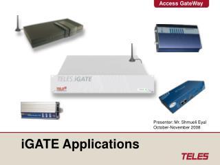 iGATE Applications
