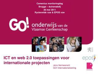 ICT en web 2.0 toepassingen voor internationale projecten