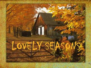Lovely Seasons