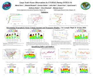 Large Scale Ozone Observations by UV-DIAL During INTEX-NA