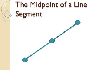 The Midpoint of a Line Segment