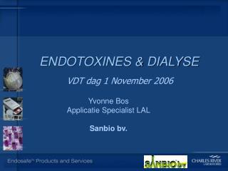 ENDOTOXINES & DIALYSE