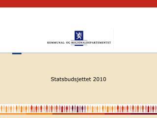 Statsbudsjettet 2010