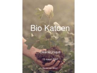 Bio Katoen