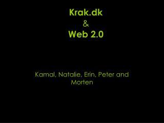 Krak.dk & Web 2.0
