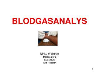 BLODGASANALYS