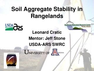 Soil Aggregate Stability in Rangelands