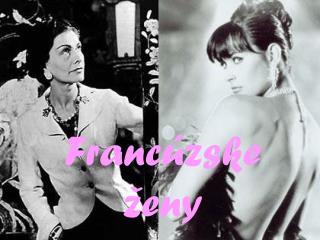 Francúzske ženy