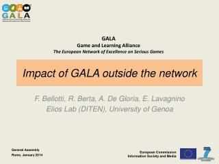Impact of GALA outside the network